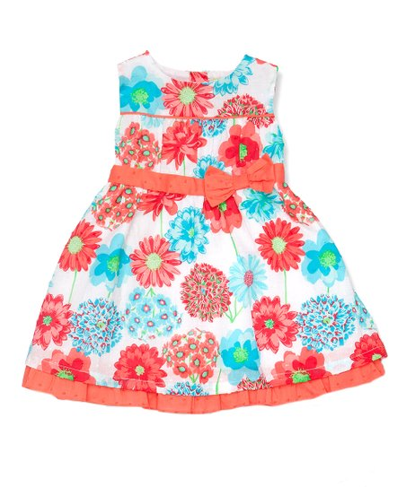 Turquoise A-Line Dress - Infant, Toddler & Girls
