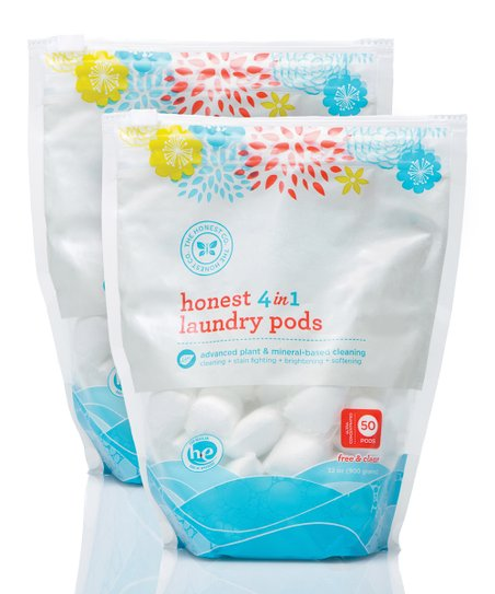 4-in-1 Laundry Pods Pack - Set of Two