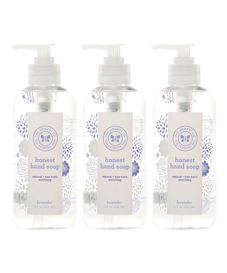 Lavender Hand Soap - Set of Three