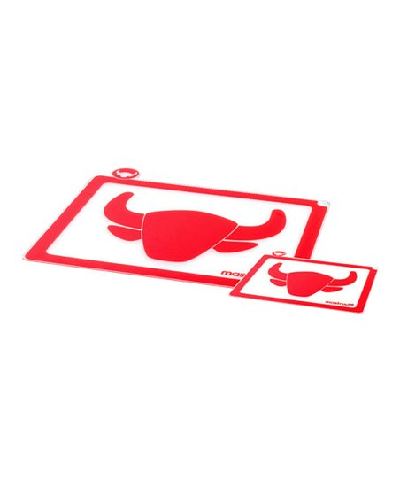Red Meat Cutting Board - Set of Two