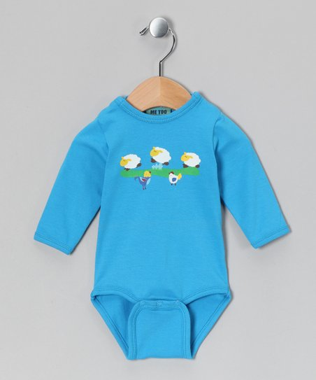Swedish Blue Sheep Bodysuit - Infant