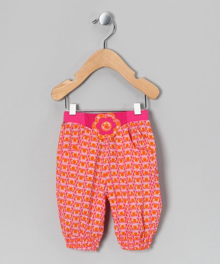 Beetroot Pink Kimi Pants - Infant