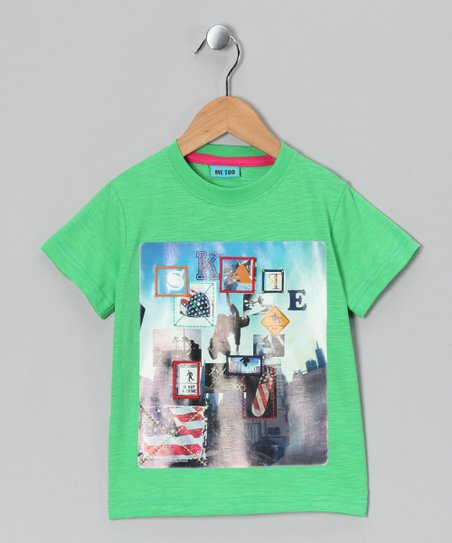 Green Marinus Bam Tee - Boys