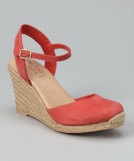 Geranium Bethany Espadrille