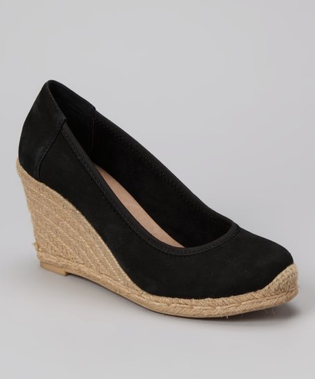 Black Blake Wedge