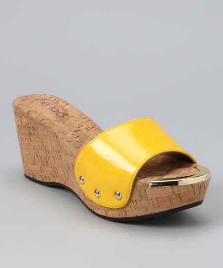 Daffodil Patent Catrina Wedge