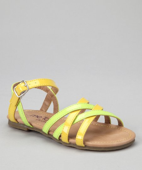 Lime & Yellow Tara Sandal
