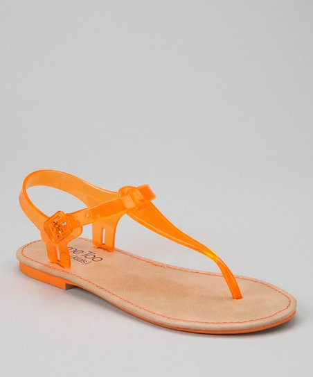 Dark Orange Taylor Sandal
