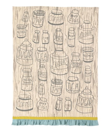 Spice Jars Kitchen Towel - Set of Two