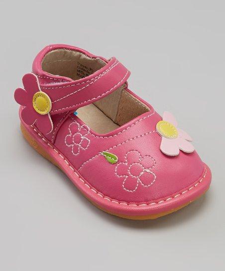 Pink Daisies Mary Jane