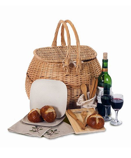 Two-Person Eco Picnic Basket Set