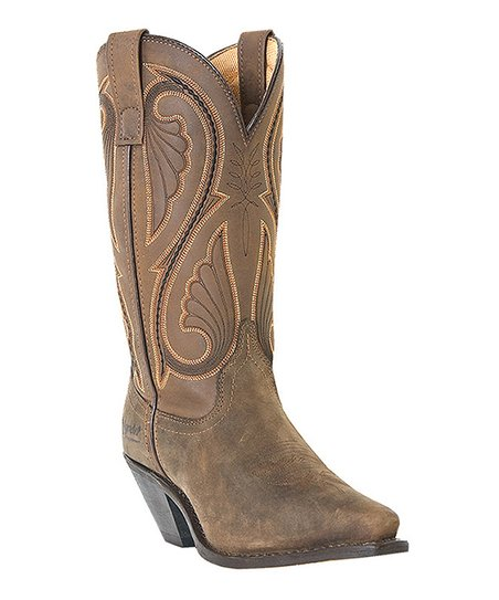 Tan Canyon Leather Cowboy Boot - Women