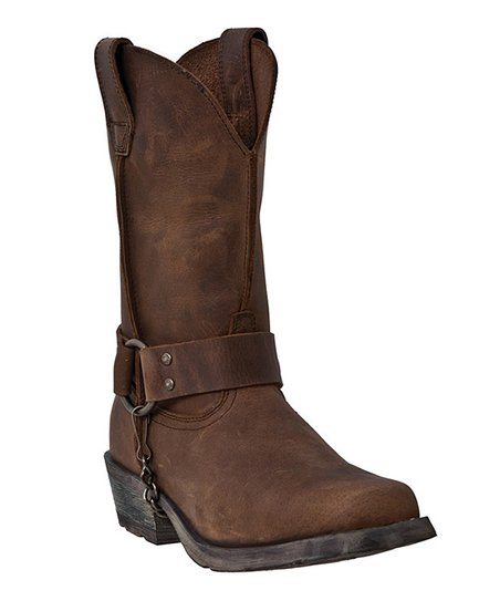 Tan Axyl Leather Boot - Women
