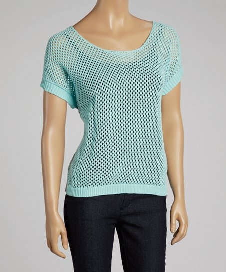 Aqua Mesh Dolman Top - Women