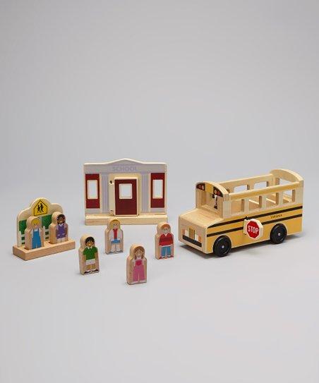 Whittle World School Personalized Bus Set
