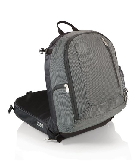 Gray Navigator Insulated Cooler Backpack