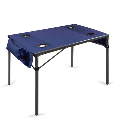 Blue Travel Table