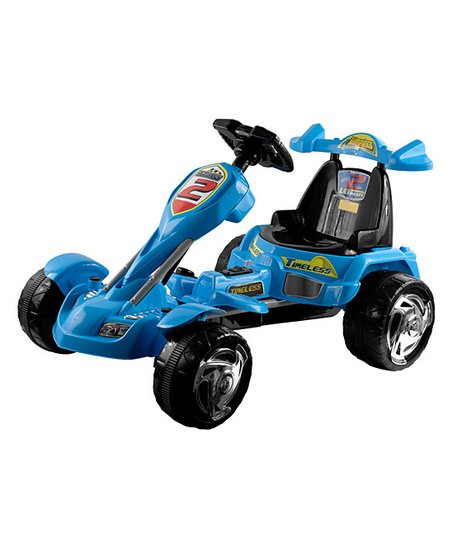 Blue Ice Electric Go-Kart Ride-On