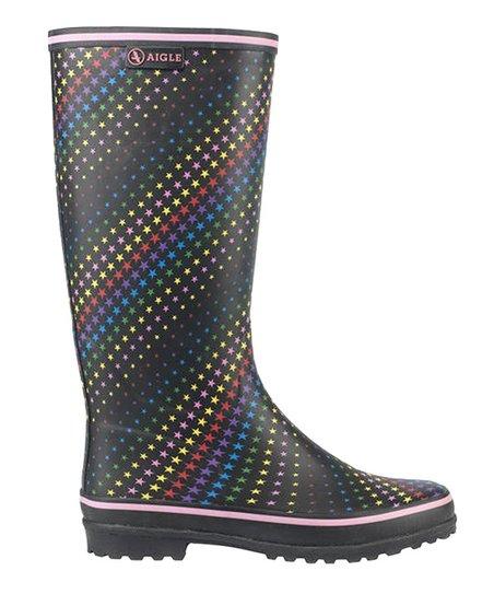 Rainbow Stars Carelie Rain Boot – Women