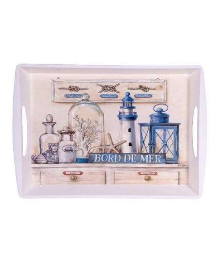 Home Essentials & Beyond 'Bord de Mer' Rectangular Serving Tray