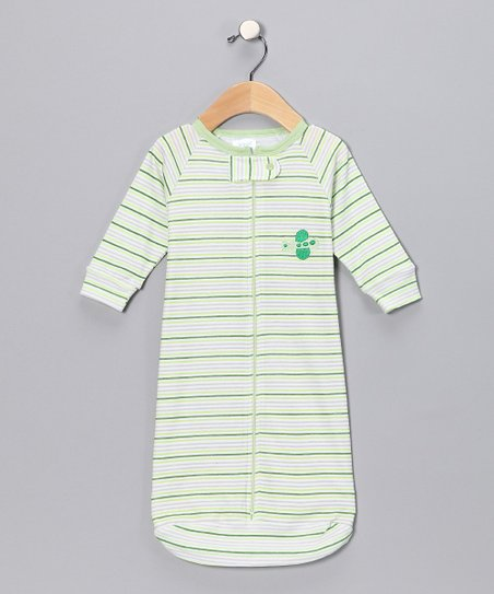 Green Stripe Sleeping Sack