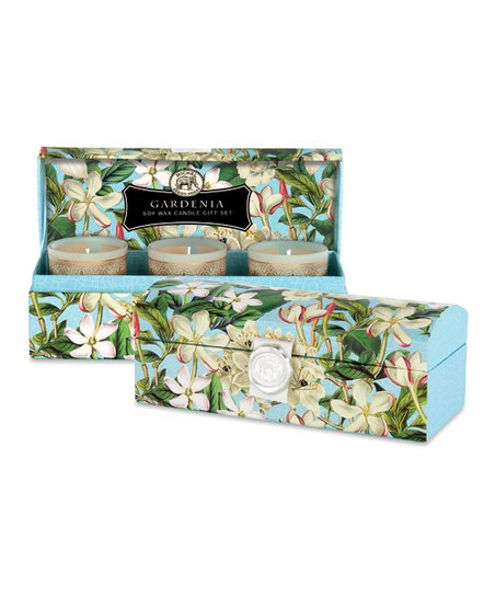 Gardenia Candle Set &amp; Gift Box