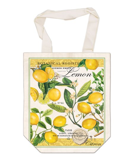 Lemon Basil French Market Bag