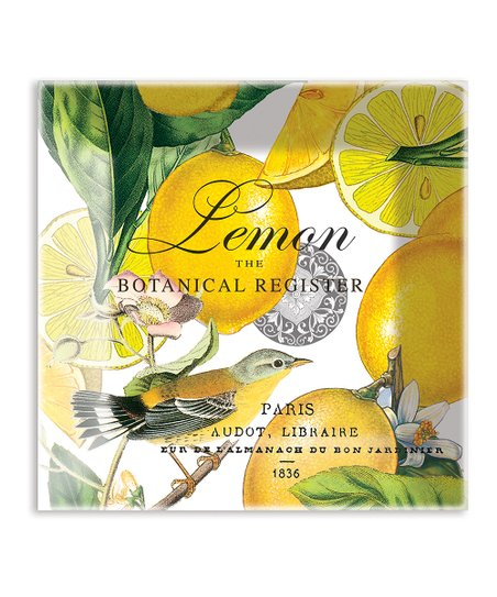 Lemon Basil Glass Plate