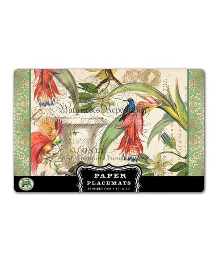 Enchanted Garden Place Mat - Set of 25