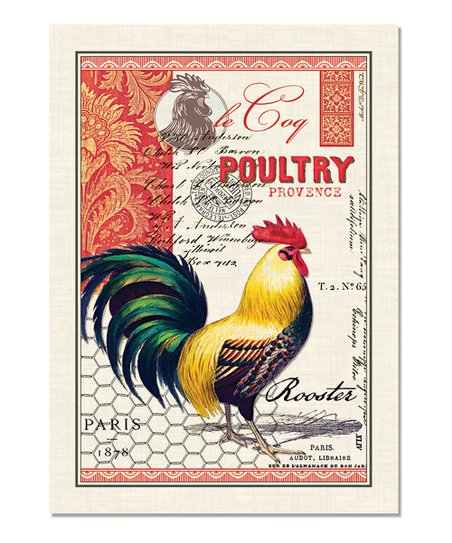 Rooster Towel - Set of Three