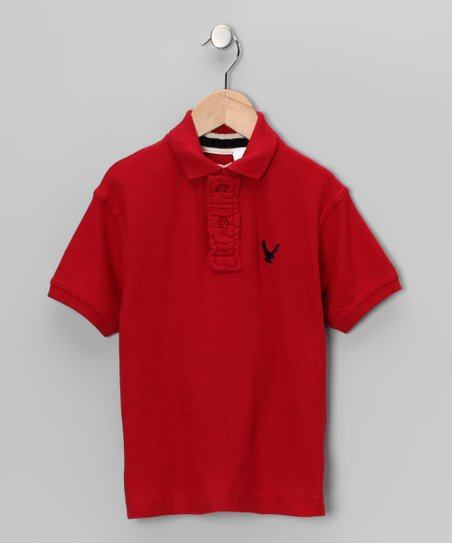 Red Eagle Polo - Boys