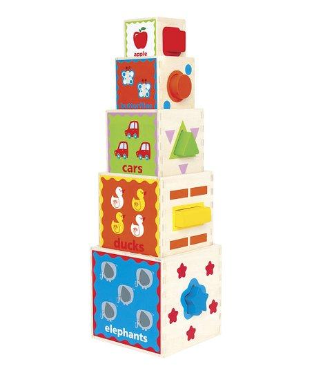 Pyramid of Play Block Set