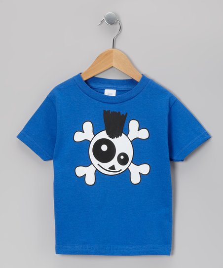 Royal Skully Punk Tee - Infant & Toddler