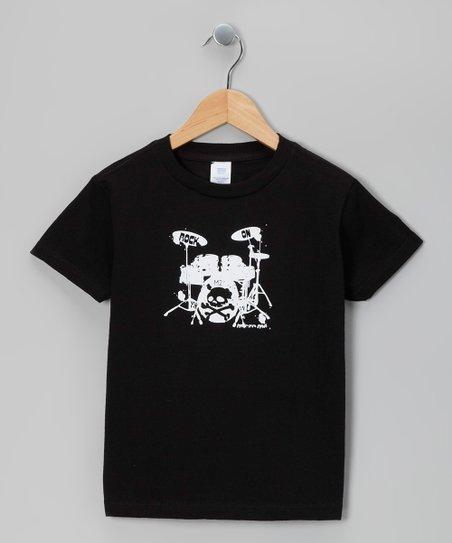 Black Drum Kit Tee - Infant, Toddler & Boys