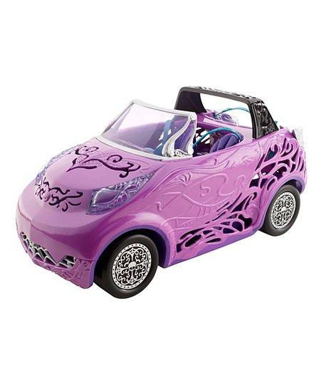 Pink Convertible Car