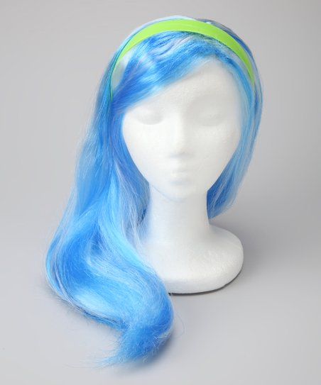Blue Ghoulia Yelps Wig - Toddler & Girls