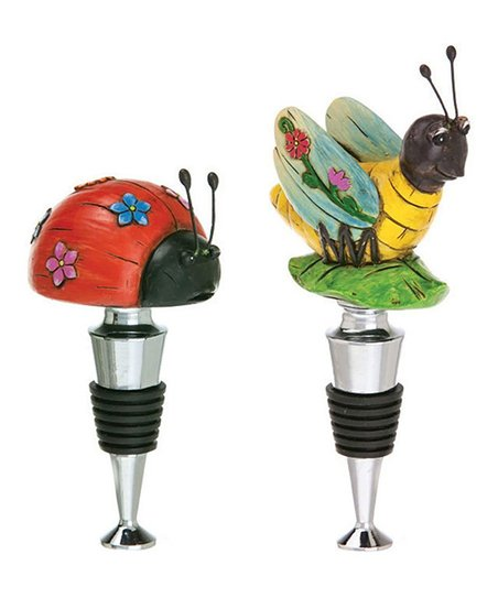 Bug Bottle Stopper Set