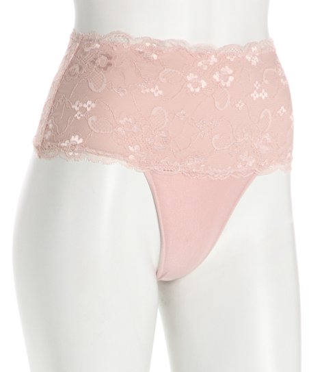Shell Contour Lace Shaper Thong - Women