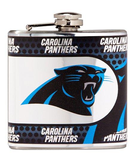 Carolina Panthers Stainless Steel Flask
