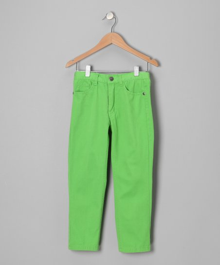 Lime Thrill Pants - Boys