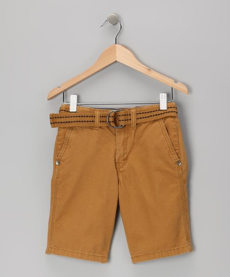 Camel Shorts - Toddler &amp; Boys