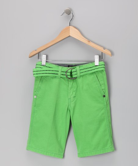 Green Shorts - Toddler & Boys