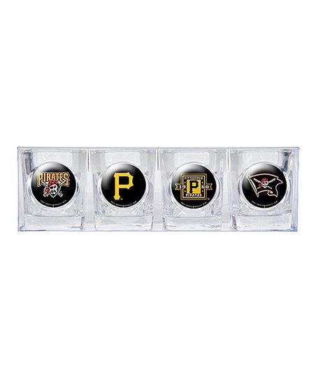 Pittsburgh Pirates Shot Glass Set