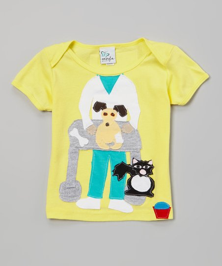 Yellow Veterinarian Tee - Infant