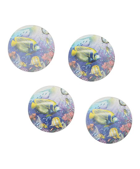 CounterArt Angels of the Sea Coaster - Set of Four