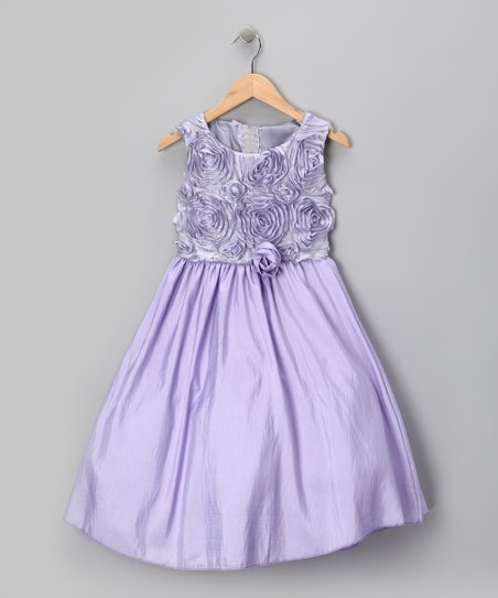 Lilac Rosette Dress - Infant, Toddler & Girls