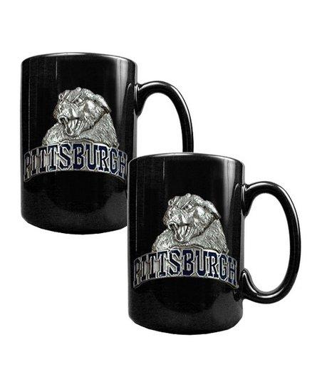 Pittsburgh Panthers 15-Oz Coffee Mugs - Set of Two