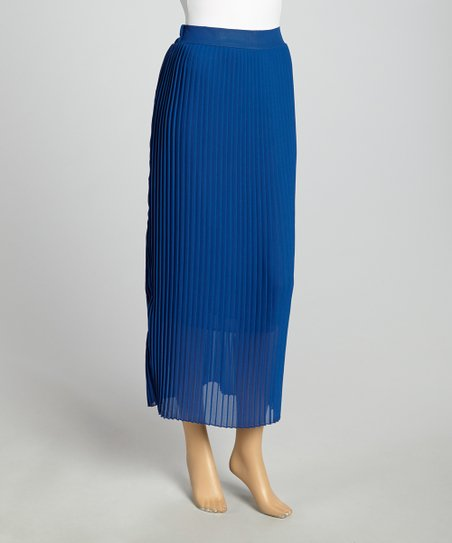 Royal Accordion Maxi Skirt - Women & Plus