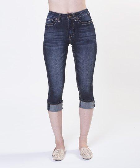 Blue Angela Capri Jeans