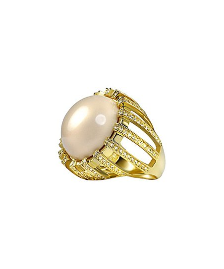 Rose Gold & Gold Simone Mysti Ring